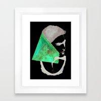 Stop Thinking Framed Art Print