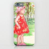 Little Miss Butterfly iPhone 6 Slim Case