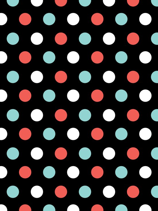Happy Dots Canvas Print