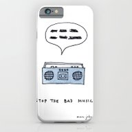Stop The Bad Music iPhone 6 Slim Case