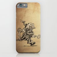 iPhone & iPod Case featuring Steam powered Pirate by Billy Allison