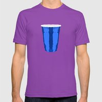 CLARITY CUP BLUE (BIG) Mens Fitted Tee Ultraviolet SMALL