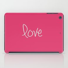 Love In Pink  iPad Case