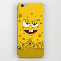 Sponge Bob iPhone & iPod Skin