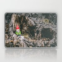 Oli the Gnome in His Summer House Laptop & iPad Skin