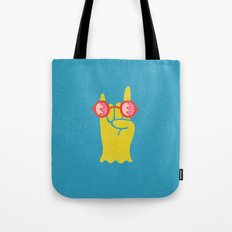 Soft Metal Tote Bag