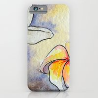 iPhone & iPod Case featuring Plumerias by Goldfish Kiss