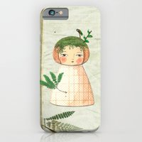 iPhone Cases featuring Herbs paperdolls by munieca