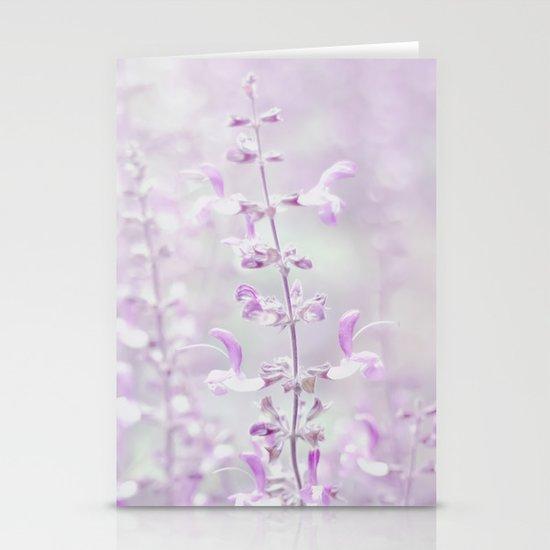 Purple dream Stationery Card