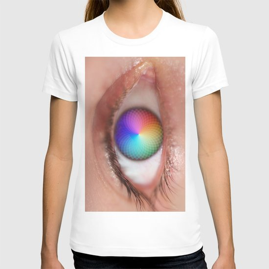 I see all the Colors - Geometric Pantone Eye Vision T-shirt