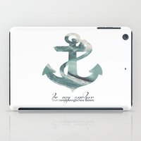 Be my Anchor iPad Case