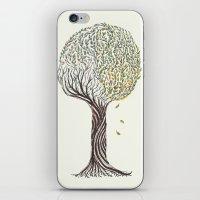 season tree iPhone & iPod Skin