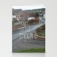 Merry Little England Stationery Cards