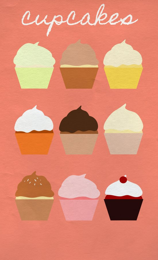 Baker's Joy Collection: Cupcakes Art Print