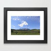 Telluride Framed Art Print