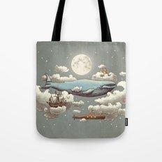Ocean Meets Sky (original) Tote Bag