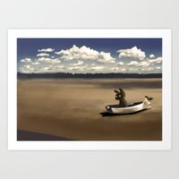 Boat Ride Art Print