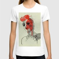 Lost In Dreams Womens Fitted Tee White SMALL