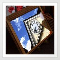 Summer Time Reflections Art Print