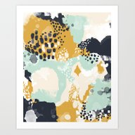 Tinsley - Abstract Paint… Art Print