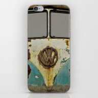 iPhone & iPod Skin featuring VW Rusty by Alice Gosling