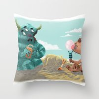 Death of the Imagination Throw Pillow