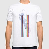 Lacryma Color Mens Fitted Tee Ash Grey SMALL