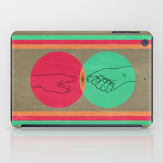 Pull your finger out  iPad Case