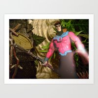 Gambit: In The Ruins Art Print