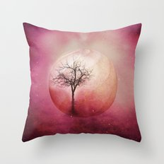 Birth of Time Throw Pillow