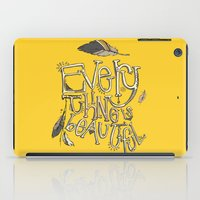 Everything Is Beautiful iPad Case