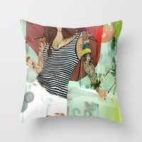HOTEL PARADISO Throw Pillow