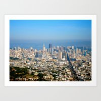 Twin Peaks, San Francisc… Art Print