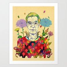Timothy Leary Art Print