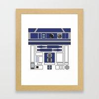R2D2 - Starwars Framed Art Print