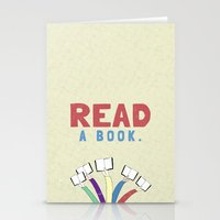 Read a book. Stationery Cards