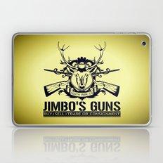 Jimbo's Guns Laptop & iPad Skin