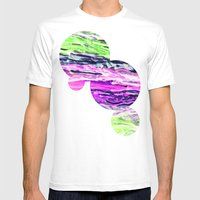 Wax #4 Mens Fitted Tee White SMALL