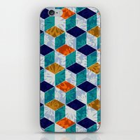 Cube Floral iPhone & iPod Skin