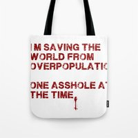 I Can Change The World! Tote Bag