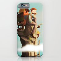 iPhone & iPod Case featuring Bird Keeper by Kivapo
