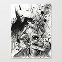 Joker: Arkham Smiles Canvas Print