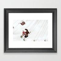 Chairoplane Framed Art Print