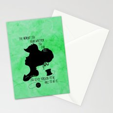 The Moment You Doubt You Can Fly Stationery Cards