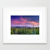 "Framed Art Prints featuring ""I only went out for a walk ........"" Love the mountains..... by Guido Montañés"