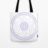 Anime Magic Circle 10 Tote Bag