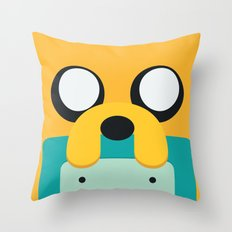 Adventure Time Totem #1 Throw Pillow