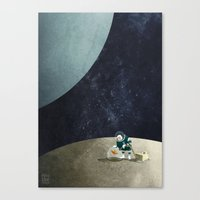 The Space Gardener Canvas Print