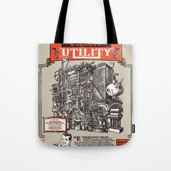 Extraordinarily Useless Utility Tote Bag