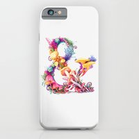 iPhone & iPod Case featuring Mushrooms & by Sasha Vinogradova